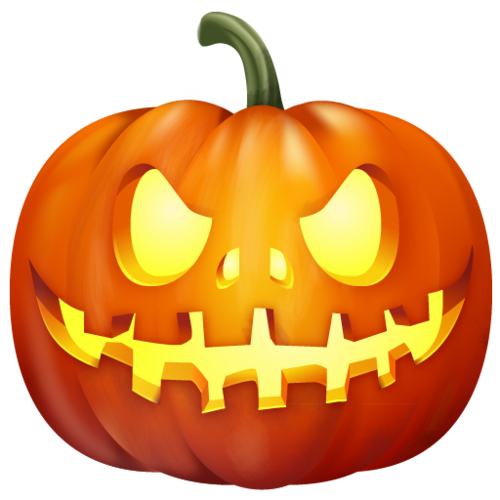 Halloween items logo