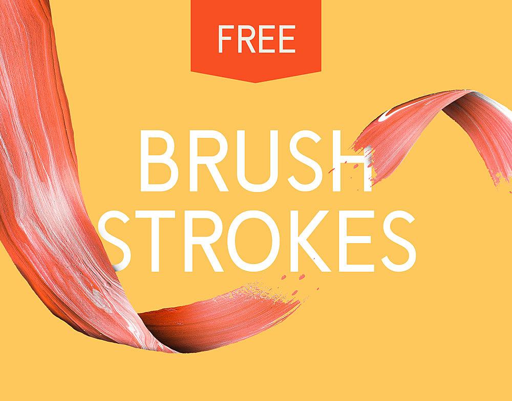 10 Free Art Paint Brush Strokes