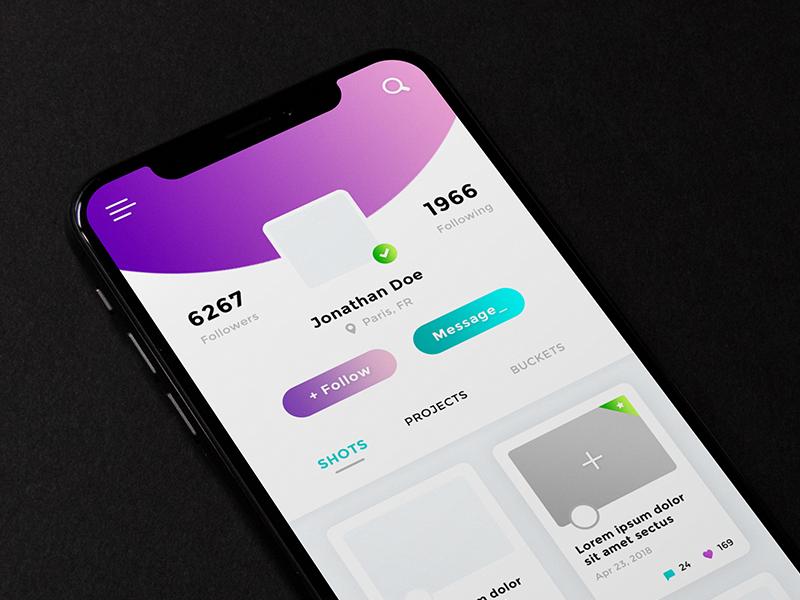 User Profile App