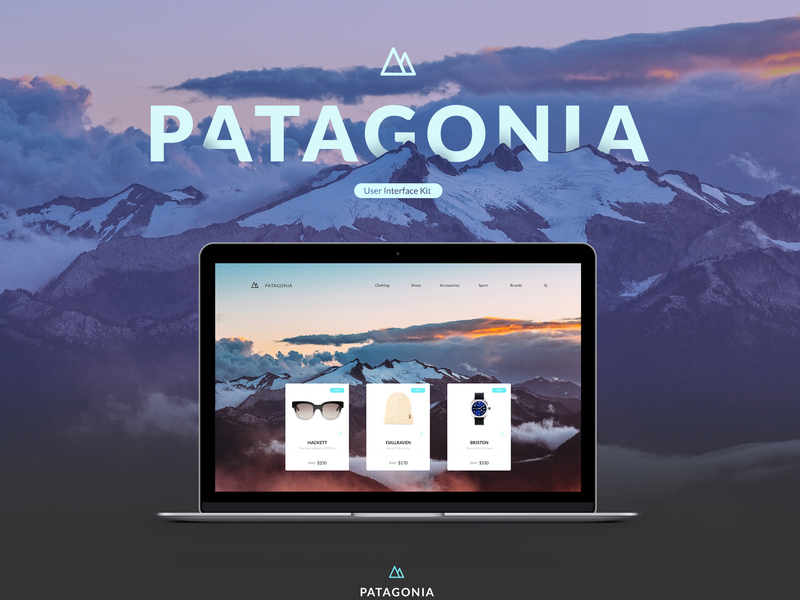 Patagonia UI Kit [PSD] preview picture