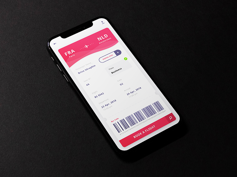 Boarding Pass App preview picture