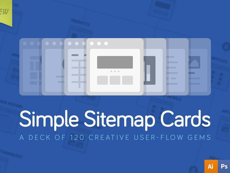 Simple Sitemap Cards preview picture