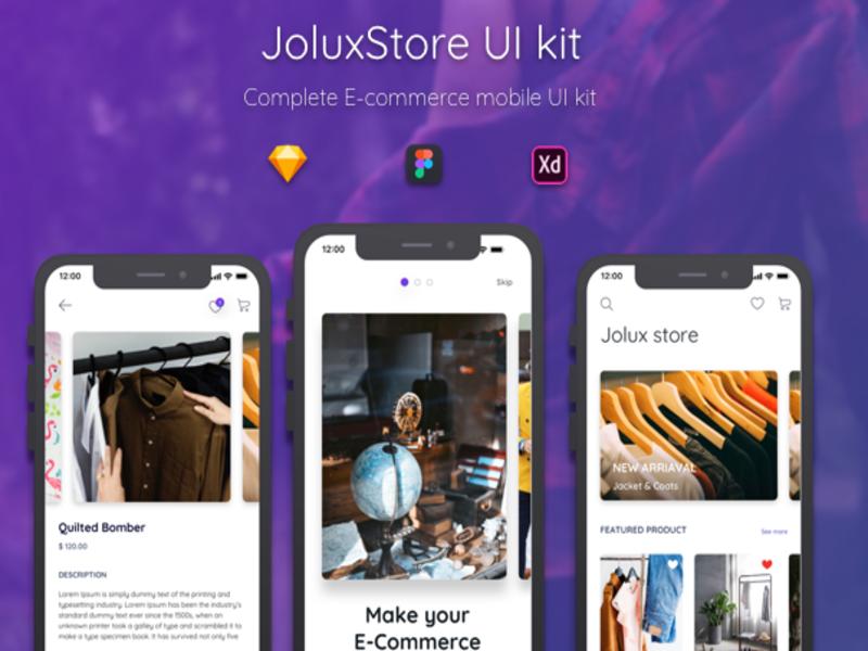 Jolux store UI kit