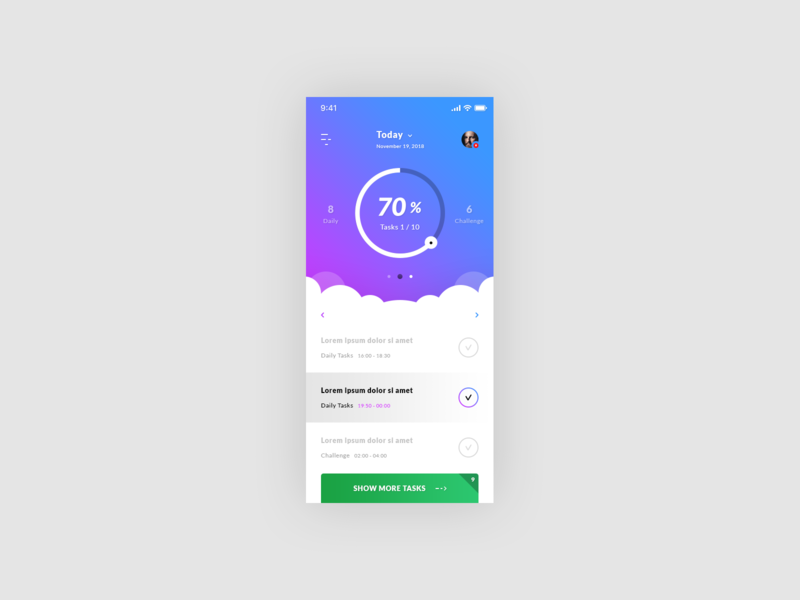 Tasks - iOS App preview picture