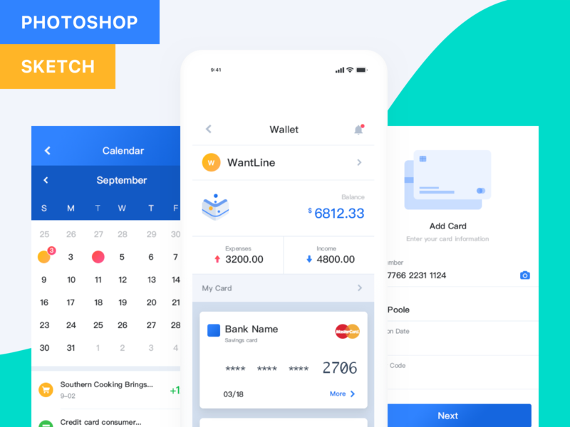 Pocket UI Kit Fintech App preview picture