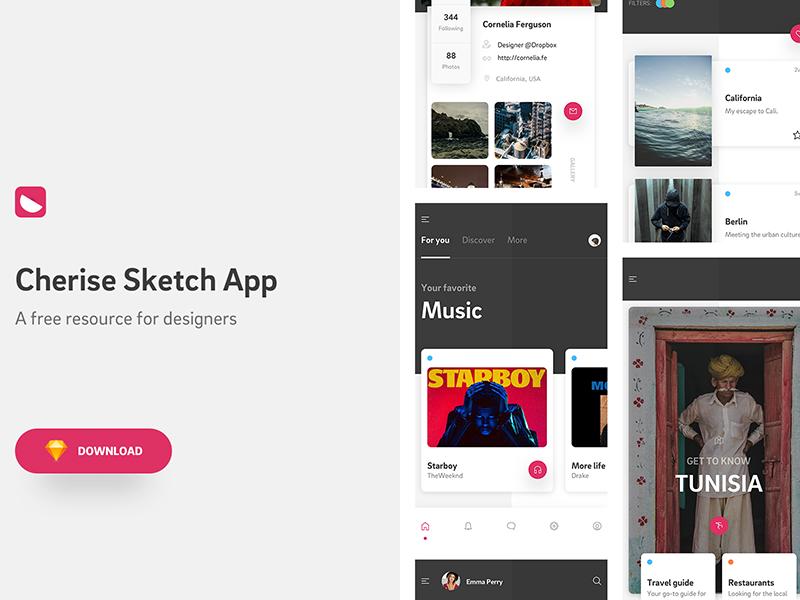 Cherise Sketch App