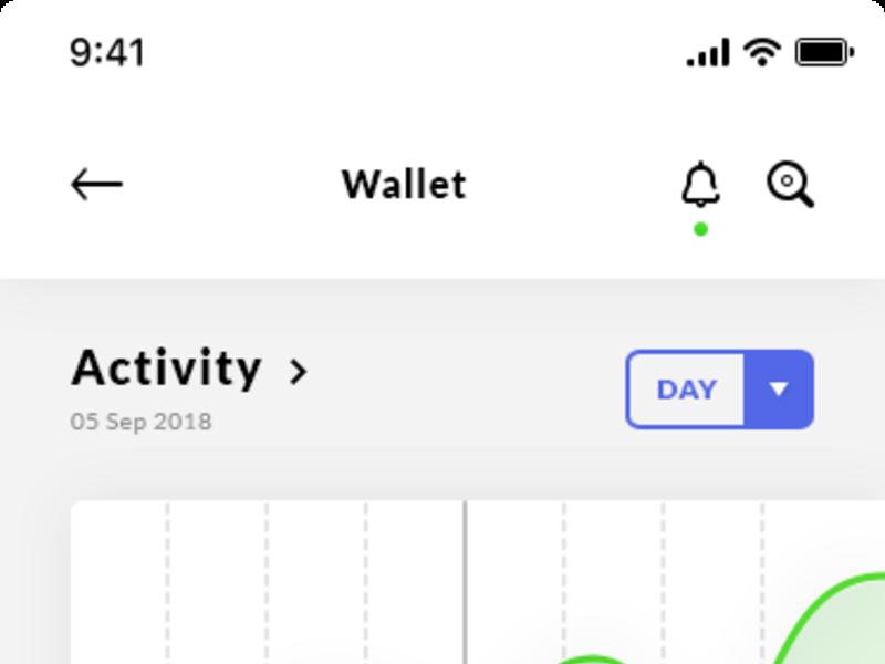 Finance, Wallet & Dashboard iOS App
