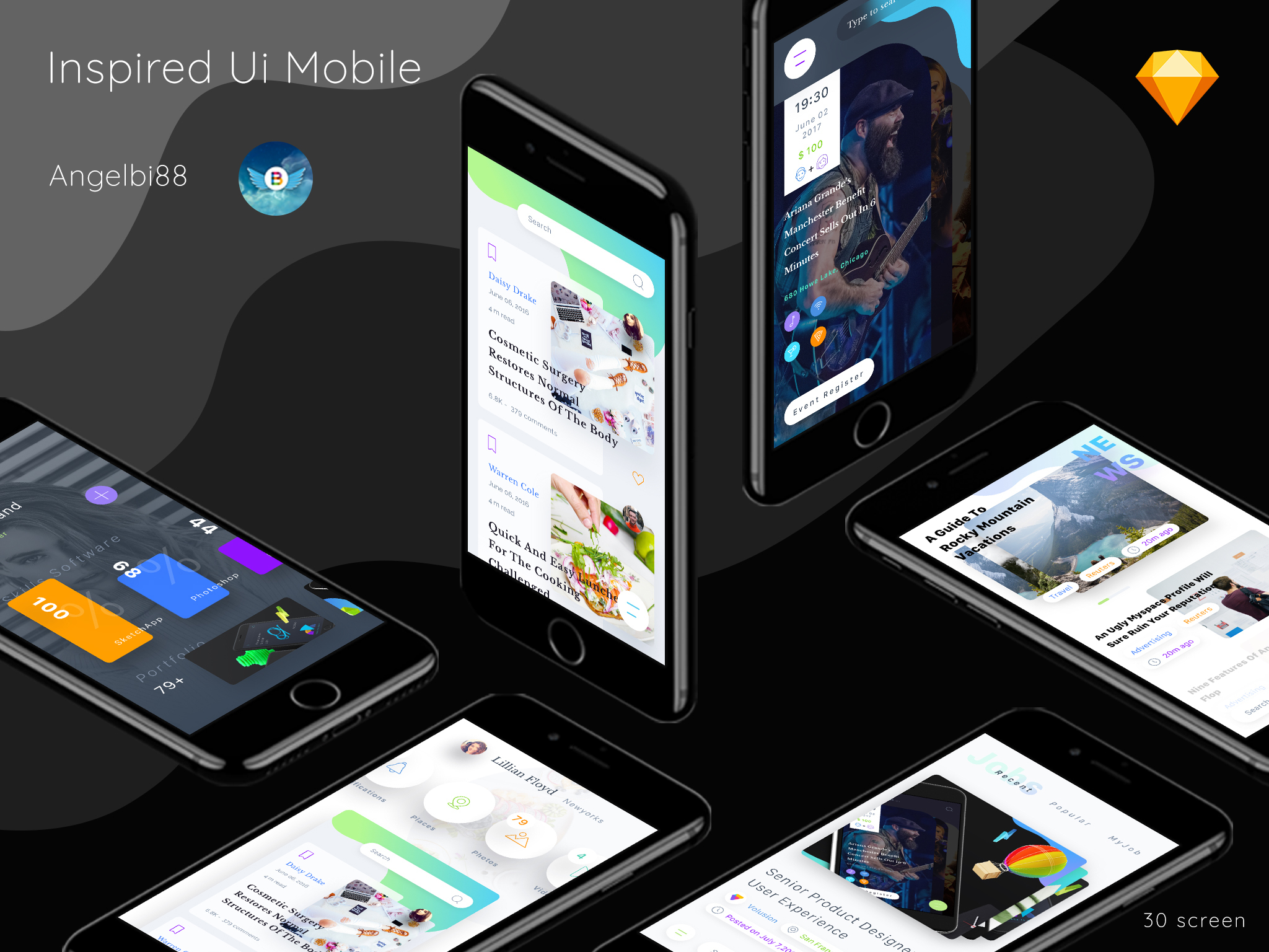 Inspired Ui Mobile Part 1 - 4