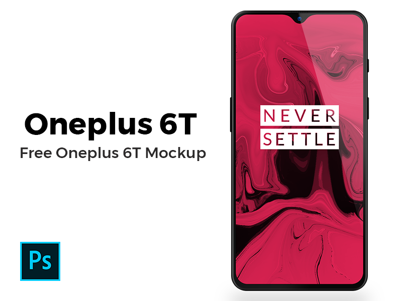 Oneplus 6T Mockup Freebie preview picture