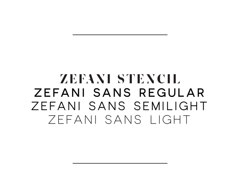 Zefani - Free Type Family