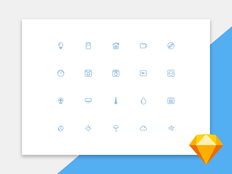 UI icons free [Sketch] preview picture