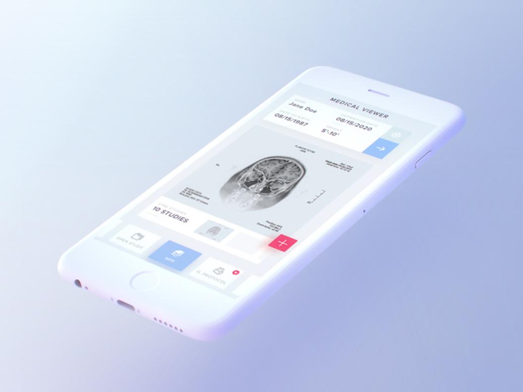 Free Light iPhone Mockup [PSD]