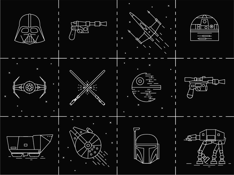 Star Wars free icons
