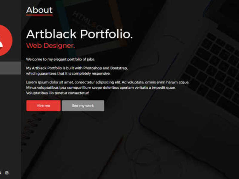 ArtBlack Porfolio preview picture