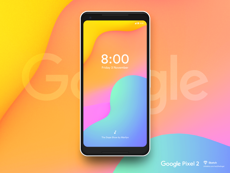Google Pixel 2 preview picture