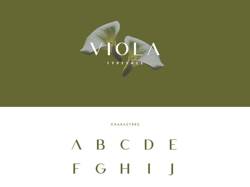 Viola - Free Typeface