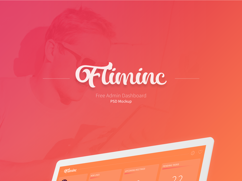Fliminc - Admin Dashboard UI  preview picture