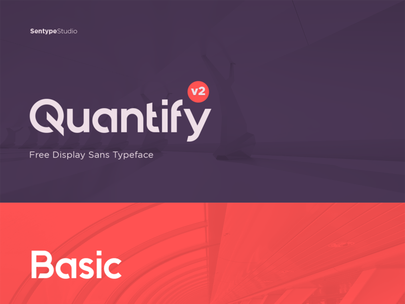 Quantify v2 Free Typeface