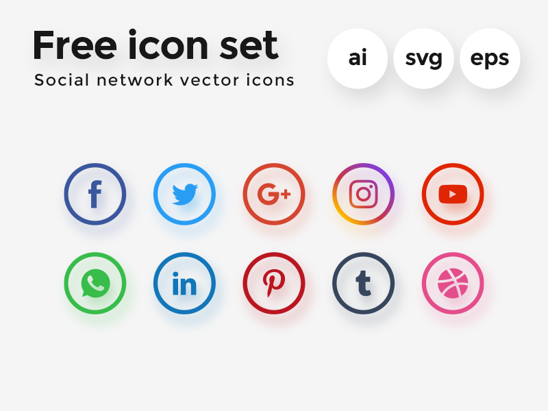 Free Vector Icon Set preview picture