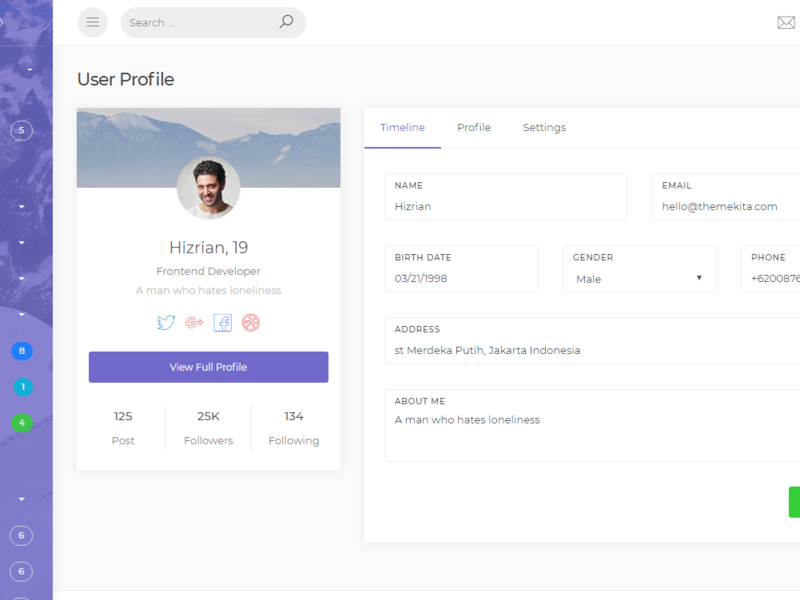 Ready Pro - Bootstrap 4 Admin Dashboard