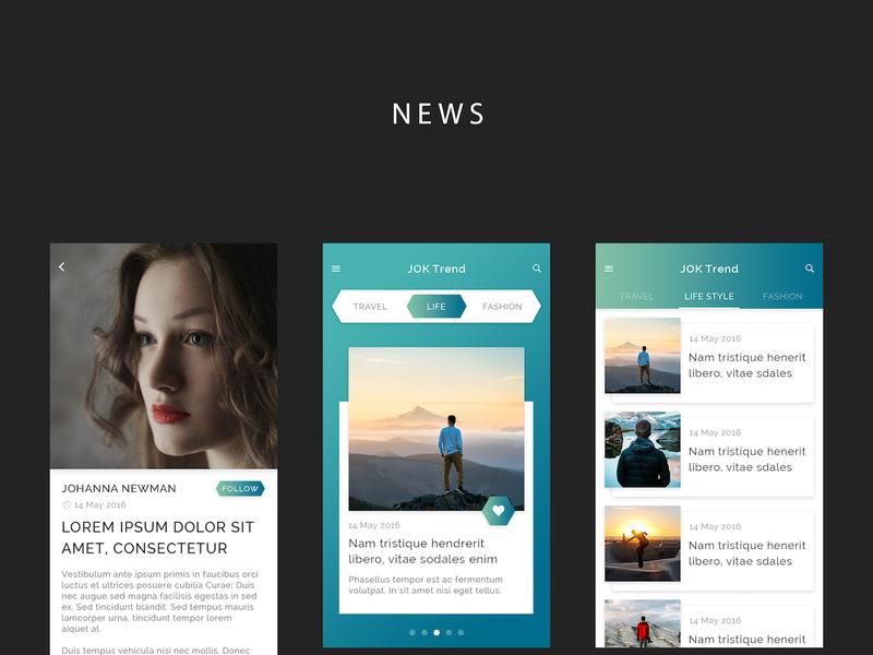 JOK Mobile UI KIT