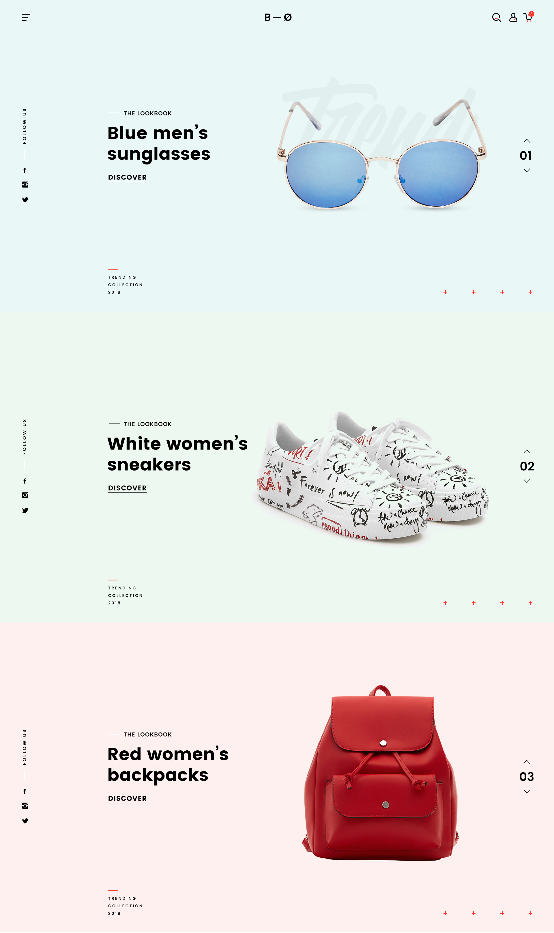 BOSCO – Responsive E-commerce PSD Template