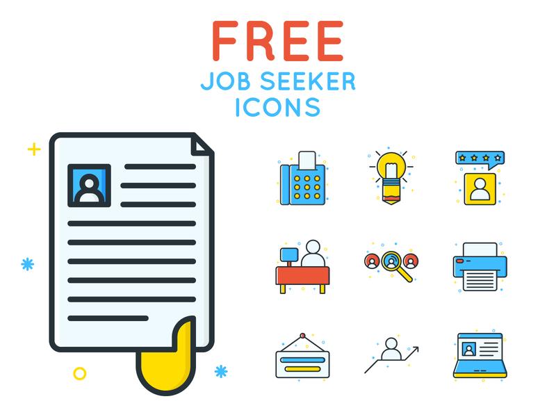 Free Job Seeker Icons