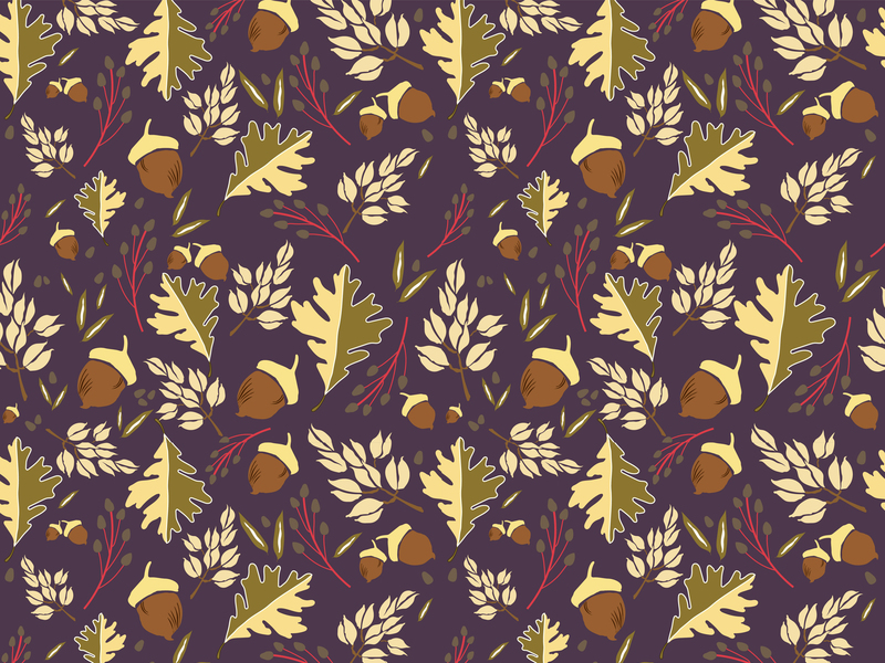 Fall seamless Pattern preview picture