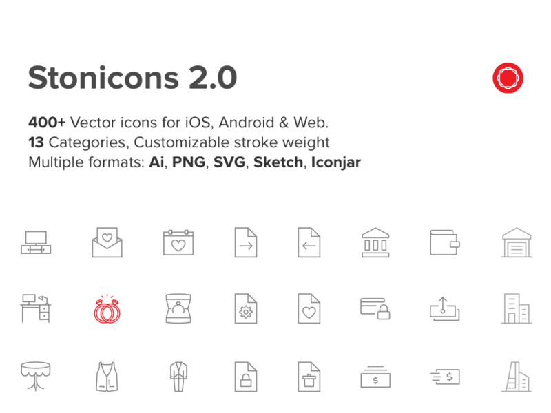 400+ Stonicons 2.0 preview picture