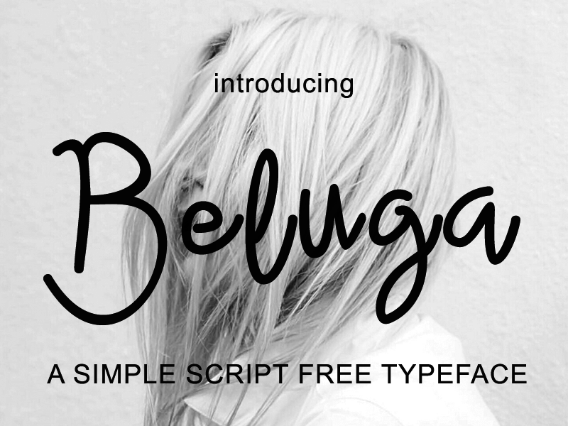 Beluga - Free Font preview picture