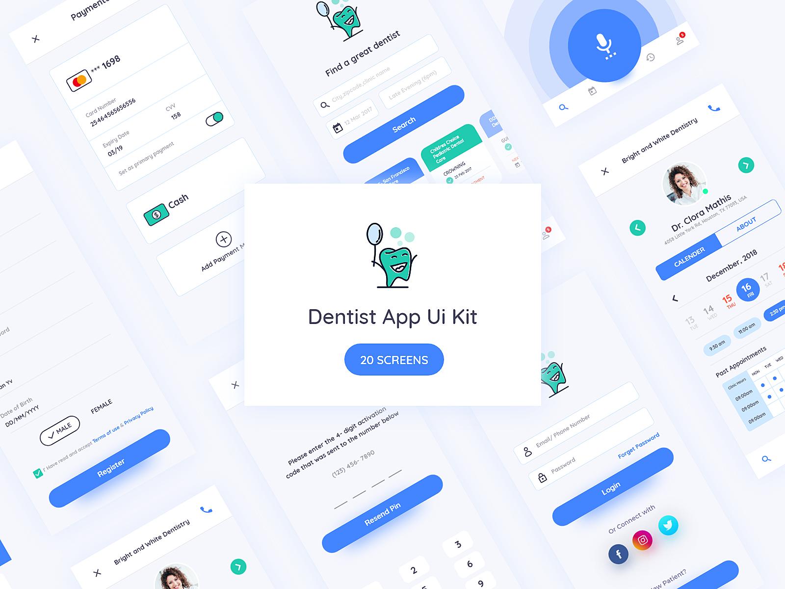 Dentist App Ui