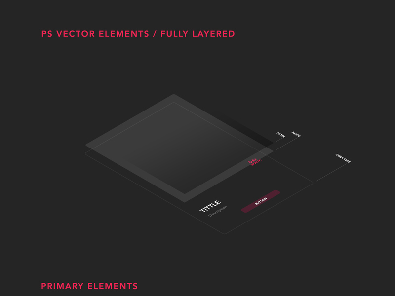 AEREA - Free UI Kit [PSD]