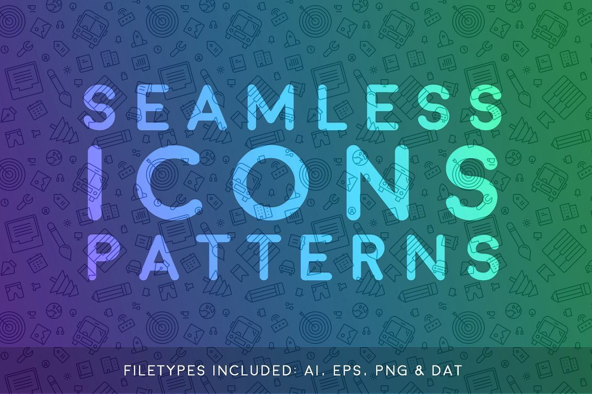 Seamless Icons Patterns