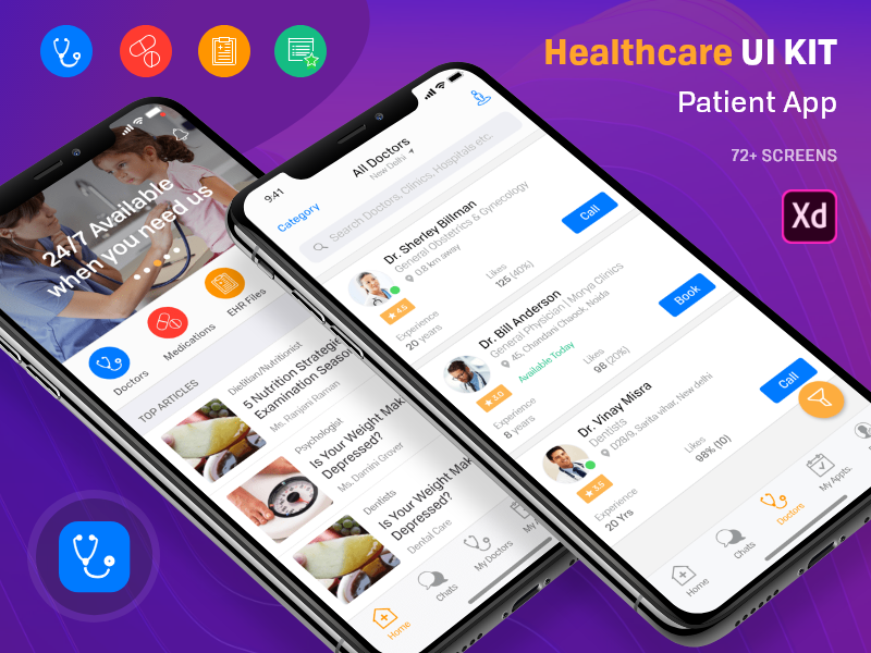 Healthcare Patient UI KIT