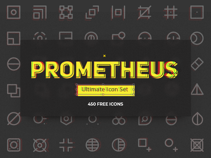 Prometheus Free Icon Set preview picture