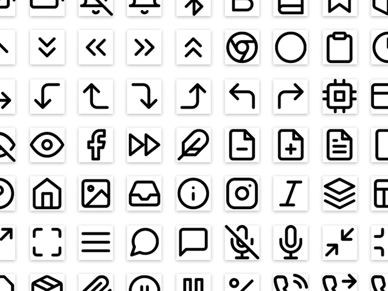 Feather Icons Sketch Library