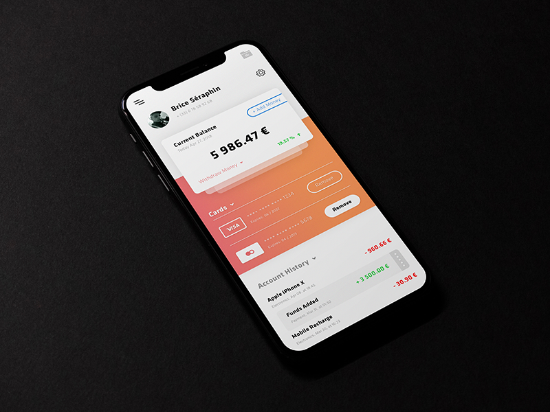 Accounts Cryptocurrency App preview picture