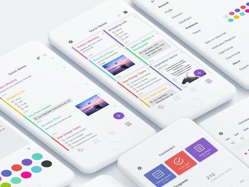 To Do Task Manager App UI Kit