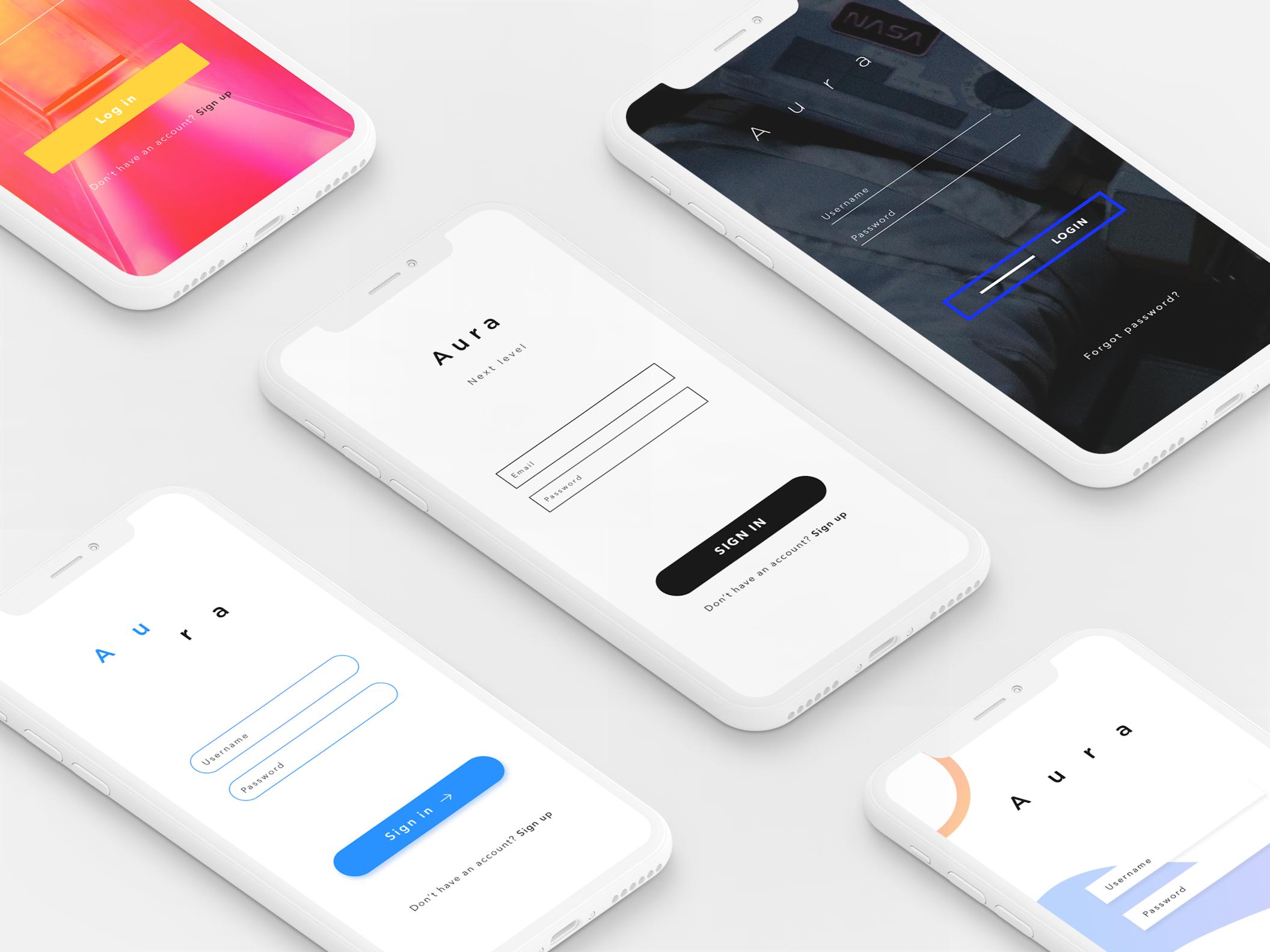 Aura - UI Kit