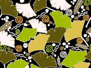 Seamless Leaves Pattern