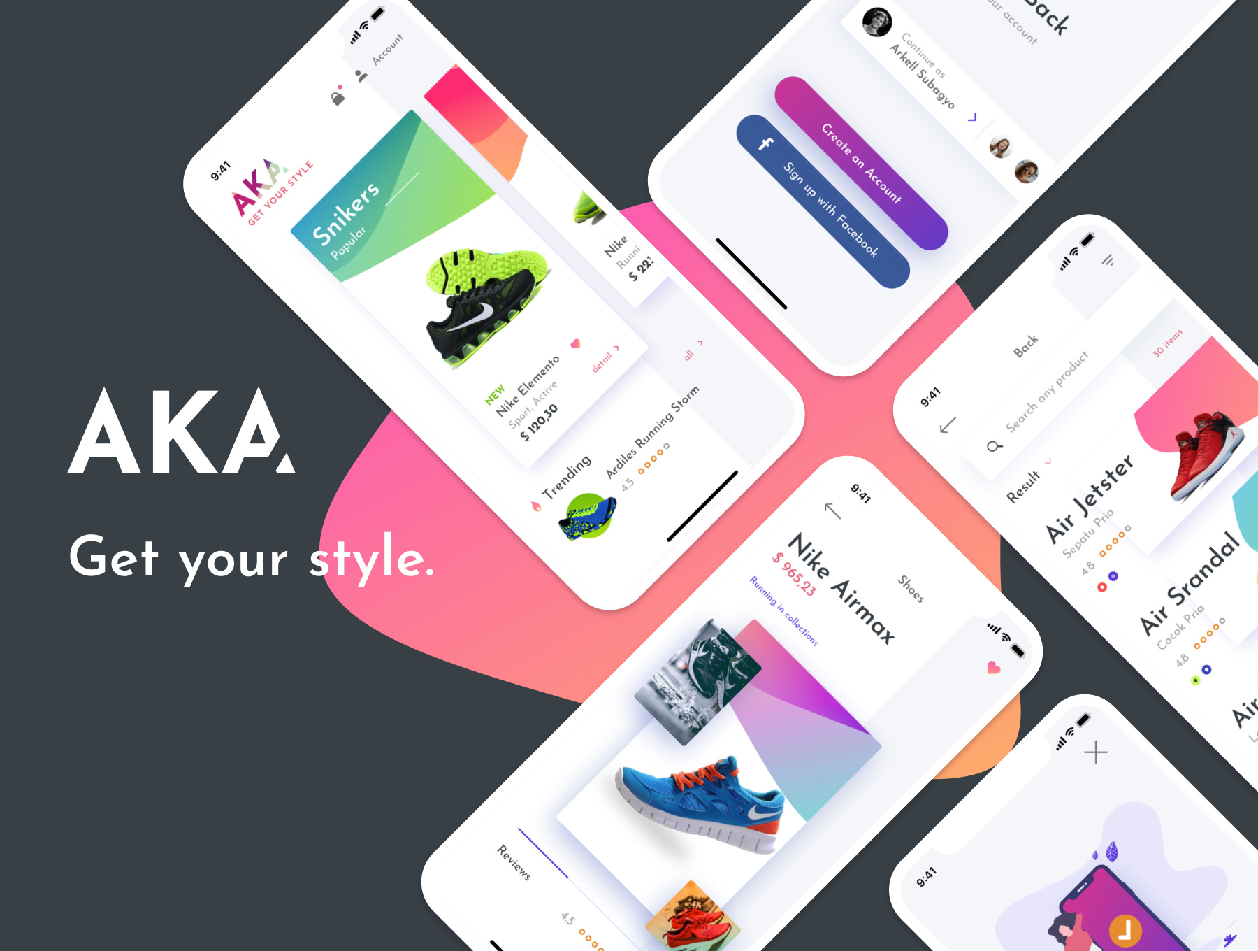 AKA UI Kit - Ecommerce Shoes Shop