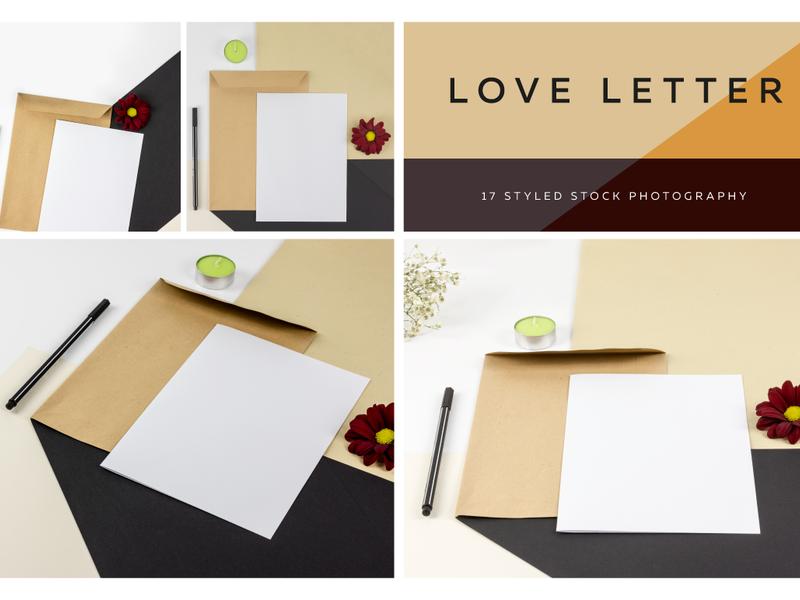 Love Letter, Styled Photo Scene