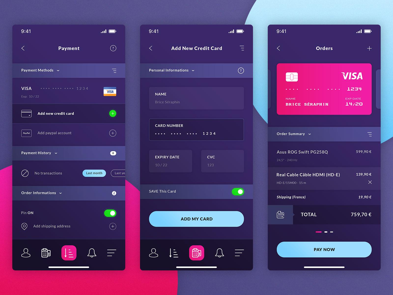 Finance IOS App