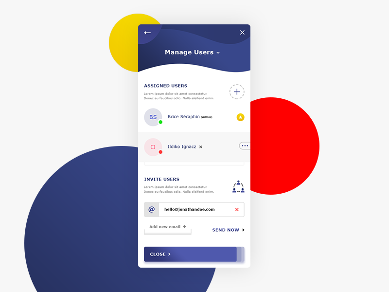 Manage Users App preview picture