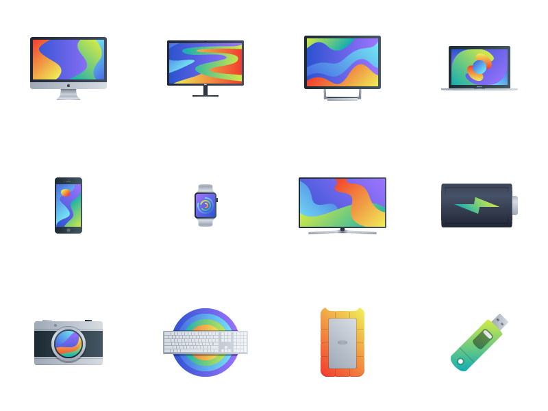 Bloom - 15 Tech Icons preview picture