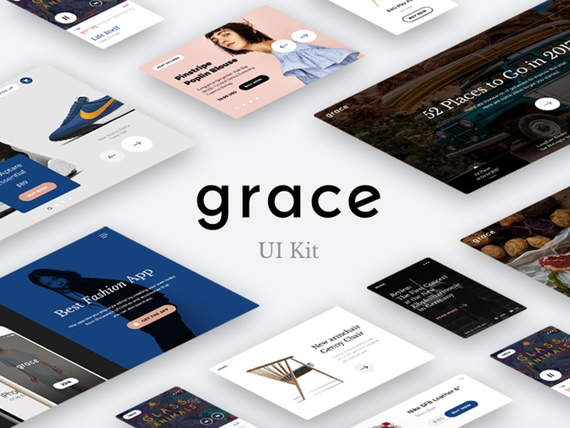 Grace UI Kit preview picture
