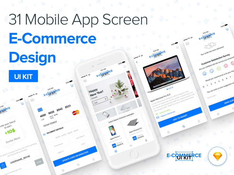 DesignUI E-Commerce UI Kit preview picture