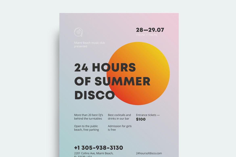 Summer #2 Poster Template