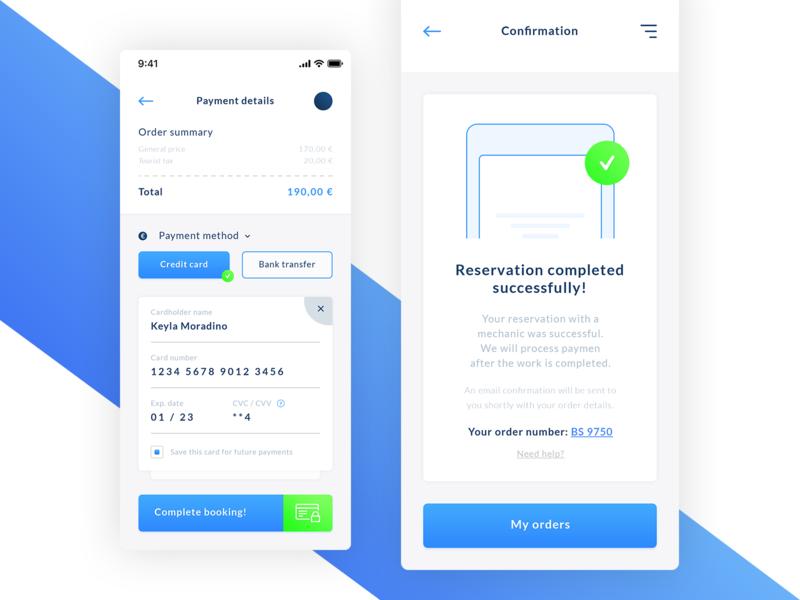 Booking UI App