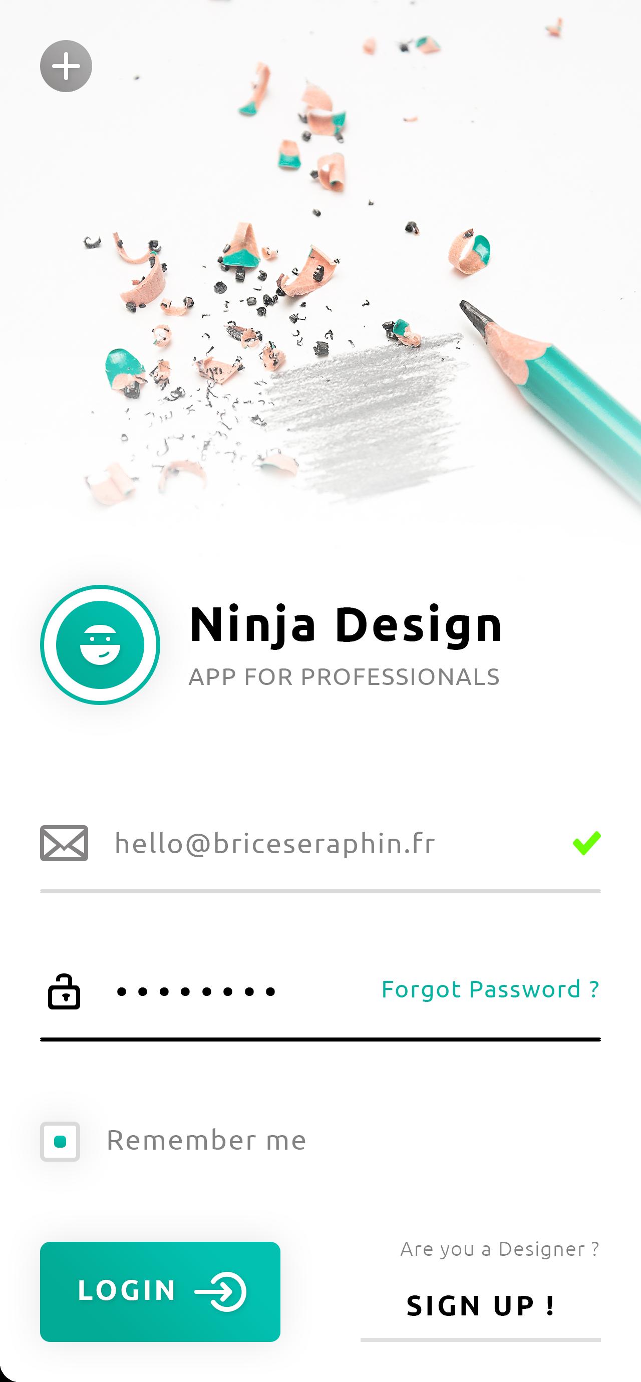 Sign In - Login App